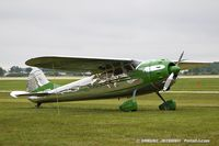 N9373A @ KOSH - Cessna 195 Businessliner   C/N 7452, N9373A