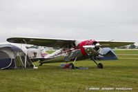 N8266R @ KOSH - Cessna 195A Businessliner  C/N 7550, N8266R