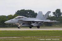 166937 @ KOSH - EA-18G Growler 166937 NL-543 from VAQ-132 Scorpions  NAS Whidbey Island, WA - by Dariusz Jezewski www.FotoDj.com