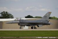 91-0398 @ KOSH - F-16CJ Fighting Falcon 91-0398 SW from 79th FS Tigers 20th FW Shaw AFB, SC