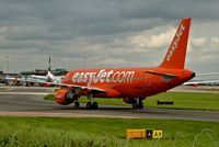 G-EZUI @ EGCC - taxing round to its gate/stand - by andysantini