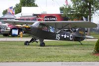 N1227N @ KOSH - Piper J3C-65 Cub  C/N 13800, N1227N - by Dariusz Jezewski www.FotoDj.com