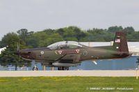 N69XC @ KOSH - Pilatus PC-9  C/N 182, N69XC