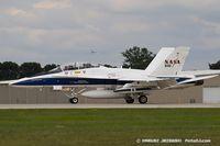 N846NA @ KOSH - NASA F/A-18B Hornet 846  161355, N846NA