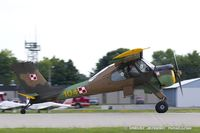 N80PZ @ KOSH - PZL-Okecie PZL-104 Wilga 80  C/N CF20900903, N80PZ
