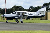 2-GNSY @ EGBO - Visitor to EGBO. Ex:-N48CK. - by Paul Massey