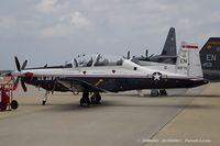 06-3829 @ KOSH - T-6A Texan II 06-3829 EN from 89th FTS Banshees 80th FTW Sheppard AFB, TX - by Dariusz Jezewski www.FotoDj.com