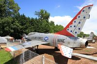56-3949 - North American TF-100F Super Sabre, Preserved at Savigny-Les Beaune Museum - by Yves-Q