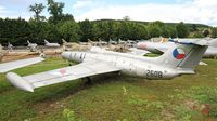 2608 - Aero L-29R Delfin, Preserved at Savigny-Les Beaune Museum - by Yves-Q