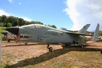 35 - Vought F-8E(FN) Crusader, Preserved at Savigny-Les Beaune Museum - by Yves-Q