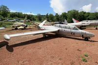 166 - Fouga CM-170R Magister, Preserved at Savigny-Les Beaune Museum - by Yves-Q