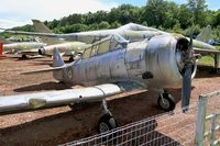 1527 - North American AT-6C Harvard IIA, Preserved at Savigny-Les Beaune Museum - by Yves-Q