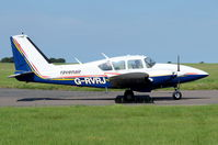 G-RVRJ @ EGSH - Departing from Norwich. - by Graham Reeve