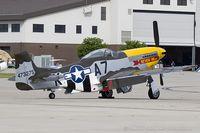 N119H @ KRDG - North American F-51D Mustang Never Miss  C/N 44-73275, N119H - by Dariusz Jezewski www.FotoDj.com