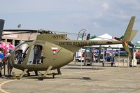 67-16570 @ KRDG - Hughes OH-6 Cayuse 67-16570 - Quonset Air Museum