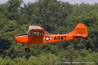 N90671 @ KYIP - Cessna 305A L-19A Bird Dog  C/N 22285, N90671