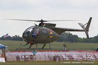 N67PB @ KYIP - Hughes OH-6A Cayuse  C/N 480411, N67PB