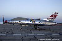N2011V @ KYIP - North American F-100F Super Sabre  C/N 243-224, N2011V - by Dariusz Jezewski www.FotoDj.com