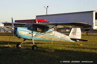 N3694V @ KYIP - Cessna 140  C/N 14970, N3694V