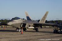 02-4039 @ KYIP - F-22 Raptor 02-4039 TY from 43rd FS Hornets 325th FW Tyndall AFB, FL - by Dariusz Jezewski www.FotoDj.com