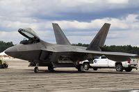 01-4022 @ KYIP - F-22 Raptor 01-4022 TY from 43rd FS Hornets 325th FW Tyndall AFB, FL - by Dariusz Jezewski www.FotoDj.com