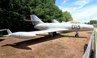 013 - Dassault Mystere IIC, Preserved at Savigny-Les Beaune Museum - by Yves-Q
