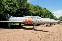 06 - Dassault Mirage IIIA, Preserved at Savigny-Les Beaune Museum - by Yves-Q