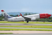 LN-DYP @ EGCC - ON TAKE OFF FROM EGCC - by m0sjv