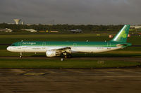 EI-CPG @ EIDW - An early morning departure from Dublin. - by Dave Turpie