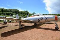 A-057 - Republic F-84G Thunderjet, Preserved at Savigny-Les Beaune Museum - by Yves-Q
