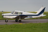 G-AVWA @ EGSH - Just landed at Norwich. - by Graham Reeve