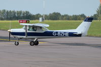 G-BZHE @ EGSH - Just landed at Norwich. - by Graham Reeve