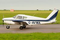 G-AVWA @ EGSH - Arriving at Norwich. - by keithnewsome