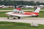 C-GOVQ @ OSH - 1978 Beech 95-B55, c/n: TC-2158 - by Timothy Aanerud