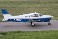 2-YULL @ EGJB - Taxiing after arrival, Guernsey - by alanh