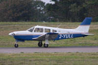 2-YULL @ EGJB - Rolling out after arrival on 27, Guernsey - by alanh