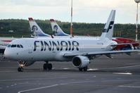 OH-LZF @ EFHK - Finnair A321 - by fink123