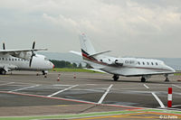 CS-DXY @ EGPN - Parked on the apron at Dundee - by Clive Pattle