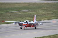 F-ZBAP @ LFML - Grumman S-2F Tracker, Taxiing to holding point rwy 31R, Marseille-Provence Airport (LFML-MRS) - by Yves-Q