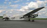 N9645 @ KLNS - This beautiful Tri Motor awaits its next load of lucky passengers (including me). - by Daniel L. Berek