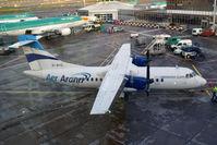 EI-BYO @ EIDW - Unfortunately, taken through a window at the Dublin airport. - by Dave Turpie