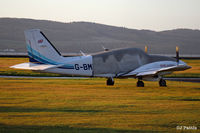 G-BMFD @ EGPN - Under cover at Dundee - by Clive Pattle