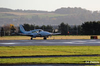 G-BMFD @ EGPN - Visiting Dundee - by Clive Pattle