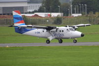 G-CBML @ EGTE - Departing from Exeter.