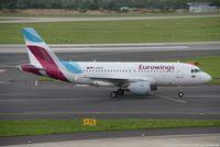 D-ABGO @ EDDL - Airbus A319-112 - EW EWG Eurowings ex AB opby Air Berlin - 3689 - D-ABGO - 28.07.2017 - DUS - by Ralf Winter