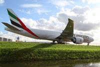 A6-EFO @ EHAM - Emirates SkyCargo Boeing 777 - by Andreas Ranner