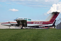N137AS @ KLNS - A venerable Dutchess awaits some maintenance. - by Daniel L. Berek