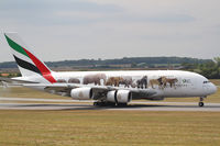 A6-EOM @ LOWW - Emirates A380 - by Andreas Ranner
