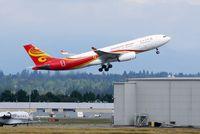 B-LNL @ YVR - HX80 departure - by Manuel Vieira Ribeiro