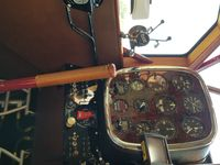 N9708 @ SC00 - Cockpit View - At the annual Triple Tree Flyin